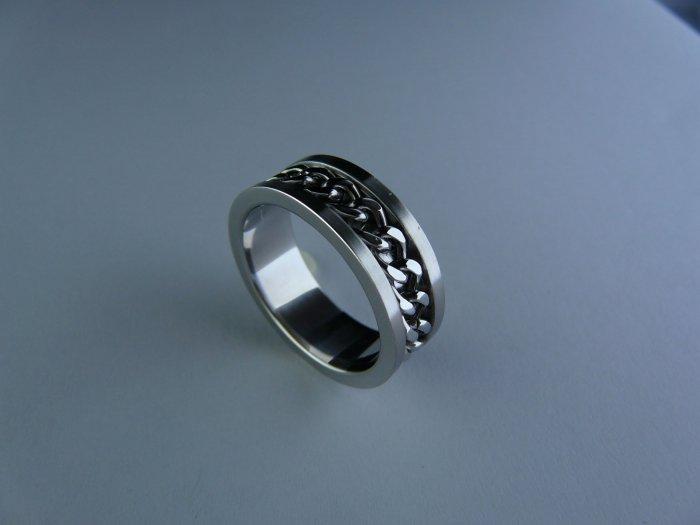 Stainless steel ring FSR-2124