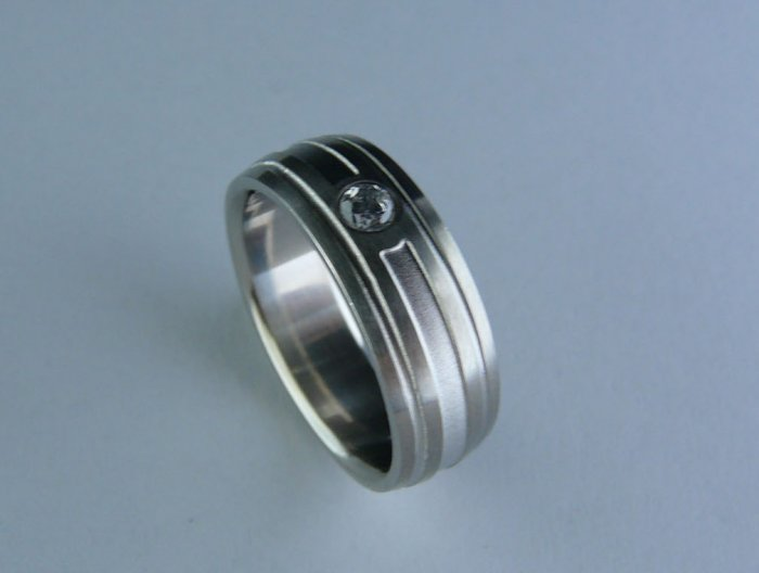 Stainless steel ring FSD-2167