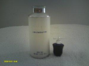 VIVID~Liz Claiborne 2 Pc. Set~Body Talc~Parfum Mini