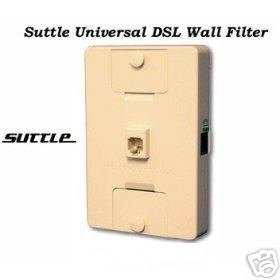 2- Suttle Wall Mount DSL Adapter mount Plate 1-2 line