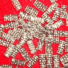 50- 7.5 mm Tube Spacer Beads *Tibetan Silver *
