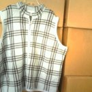 C.J. BANKS MEN ZIPPERED VEST 3X