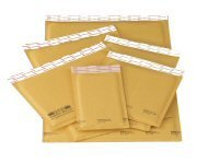 Kraft #00 Bubble Mailers of 20- 5'' x 10''