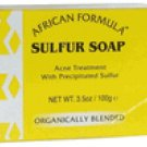 LOT 3 SULFUR SOAP FOR THE REDUCTION OF ACNE *NIB* 3.5 OZ.