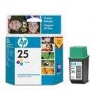 HP # 25 INKJET ORIGINAL CARTRIDGE COLOR