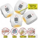 4 ROYAL ULTRASONIC PEST REPELLENT *RIDS PEST*COMPARE TO SUNBEAM