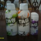 LOT 3 Tag Body Shots Get Yours/Spin It/Makes Moves Sprays