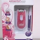 CLIO PALMPERFECT EPILATOR RECHARGEABLE~ 6 WEEKS HAIR FREE~W/MINI BEAUTY TRIMMER