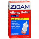 Zicam Allergy Relief Nasal Gel .5 oz~7/2013 EXPIRED