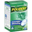 POLIDENT OVERNIGHT WHITENING 78 COUNT~EXPIRED 10/2013 EXPIRED