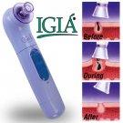 "IGIA PORE CLEANER W/FREE MICRODERM CLOTH 12"" x12""  *RIDS ACNE*"