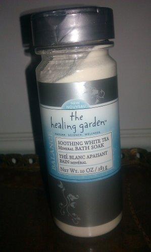 The Healing Garden Mineral Bath Soak - Soothing White Tea 8.5 OZ