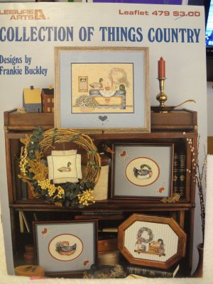 Leisure Arts Collection of Things Country Leaflet 479