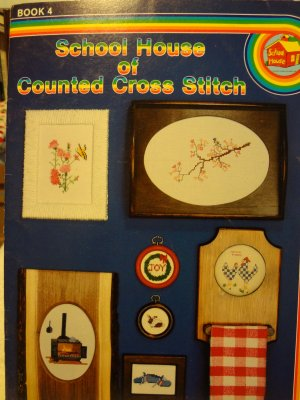 School House of Counted Cross Stitch Book 4