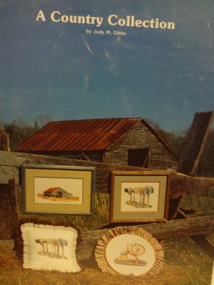 Hollie Designs presents A Country Collection Counted Cross Stitch leaflet 6