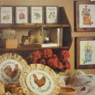 A Touch of Country Counted Cross Stitch Booklet
