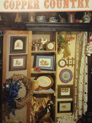 Stoney Creek Collection Copper Country Counted Cross Stitch Leaflet