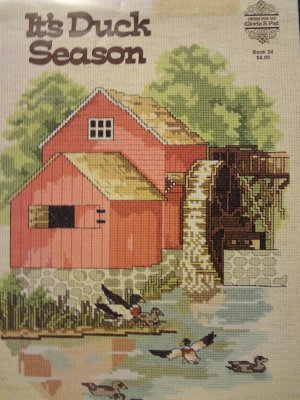 Designs by Gloria & Pat It's Duck Season Counted Cross Stitch Leaflet