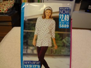 Butterick See & Sew Now 5889 Misses' Top & Pants (size 16-24)