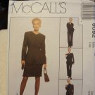 McCalls 9092 Misses' Lined Jacket, Shirt, Pants & Skirt (size 12)