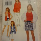 Butterick P442 Misses'/Misses' Petite Jacket, Top, Skirt, Shorts & Pants (size 12,14,16)