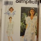 Simplicity 9613 Misses' / Miss Petite Two-Piece Dress (size 12,14,16)