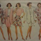 Butterick 5920 Misses'/Misses' Petite Jacket, Dress, Top, Skirt & Shorts (size 12,14,16)