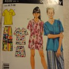 Simplicity 4339 Girls' & Boys' Loungewear (size 7-16)