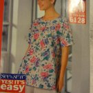 See & Sew 6128 Misses' Top & Shorts (Size XS,S,M)