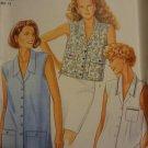 New Look 6027 Sleeveless Shirt (Size 8-18)
