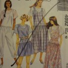 McCalls 4892 Misses' Jumper, Jumpsuit or Romper & Top (size 10)