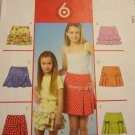 McCalls M4867 Children's & Girls' Skirts (size 12,14,16)