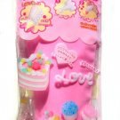 Whip pink cream air dry modelling clay Japan Fuwa mousse cake top decoration