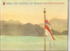 HRH  THE PRINCE OF WALES WATERCOLOURS -1991 - 1ST EDITION