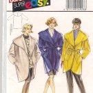 Burda Super Easy Women's Wrap Coat Pattern - Sizes 10-20