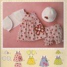 Simply Baby - Simplicity 2375 - Baby Dress, Top, Panties, Hat