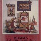 Star Spangled Santas - Mumm's the Word Wall Hanging Patterns