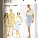 SALE - -SIMPLICITY  8511 EASY TO SEW MISSES DRESS, JACKET, SIZES 18, 20, 22