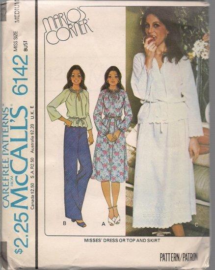 Vintage McCall's 6142 Marlo's Corner Pattern - Size Medium