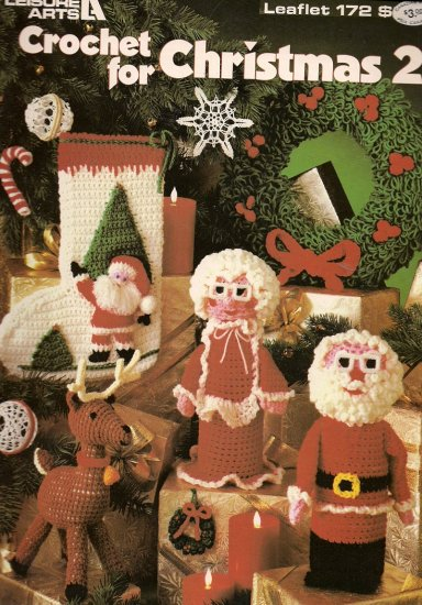 Crochet  For Christmas 2 - Leisure Arts Leaflet 172