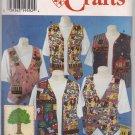 Simplicity 0608 -Misses' Vests - Apple Tree Fabrics , Large-XLarge