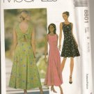 Peek-A-Boo - - McCalls 8801 Misses Dress Sizes 8, 10, 12