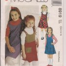 Easy McCall's 8919 Girls' Jumper Sz. 7, 8, 10From ALLGOODTHINGS