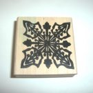 Hawaiina Quilt Rubber Stamp