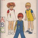 Vintage Butterick 5732 Toddler Jumper, Jumpsuit  - Sz. 2