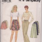 So Easy, So Simplicity 9435 Misses Pants or Shorts Sz. XS-XL