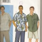For the Man Shirt,Shorts & Pants Butterick 3101 XS, S, & M