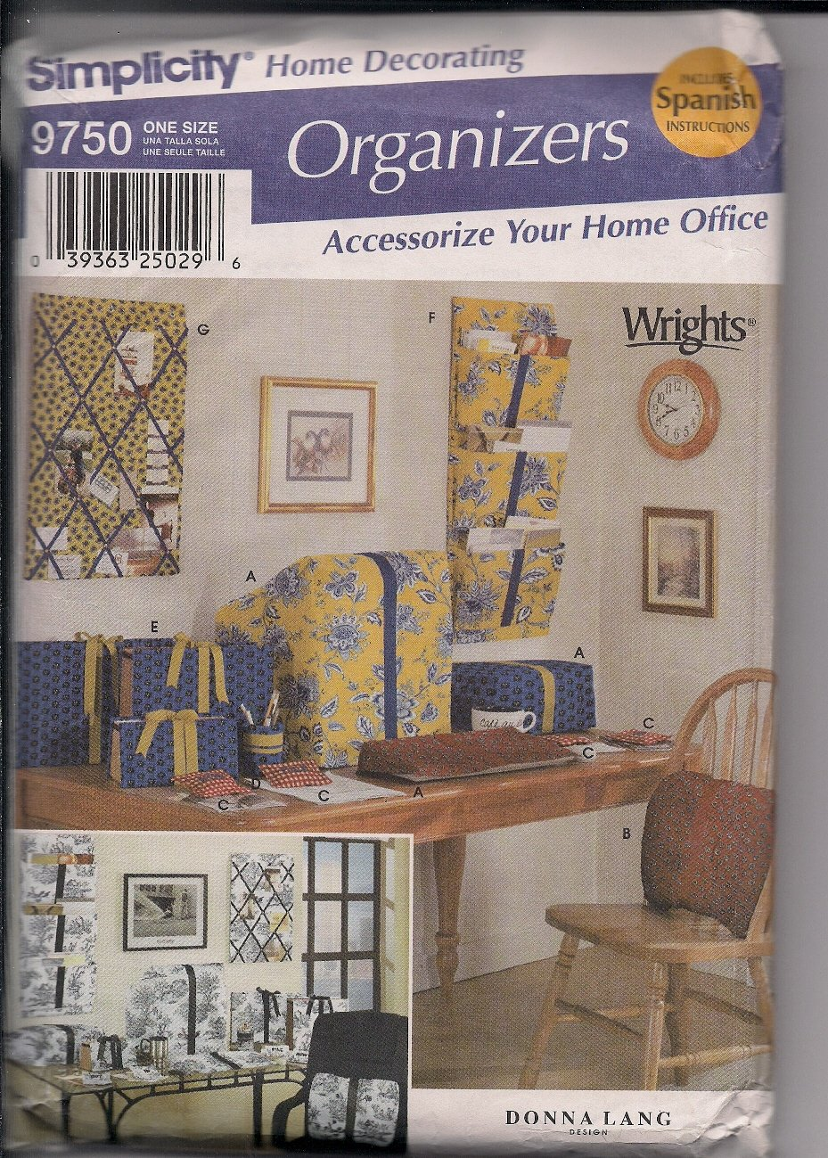 Accessories for Your Home Office Simplicity 9750