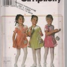 Darling Little Girls Knit Dress and Purse - Simplicity 7493 - Sz. 5-8