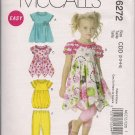McCalls Girls Dresses and Leggins - Sz 2-5 - Very Cute